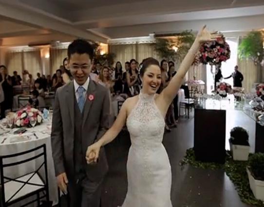 Festa de Casamento de Juliana e Jonathan realizado pelo Buffet Morenos