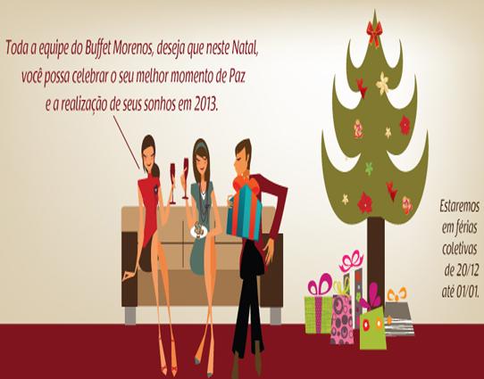 Boas Festas e Comunicado de Férias