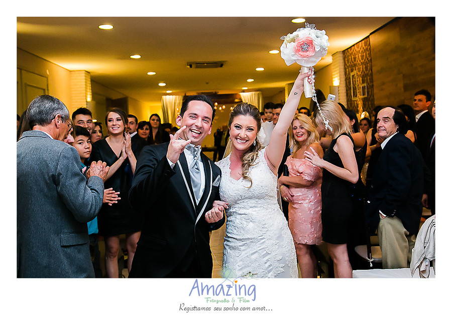 festa de casamento de Ana e Odair
