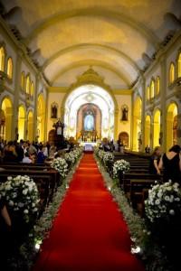 Casamento Igreja Nossa Senhora do Rosário de Fátima Sumaré São Paulo