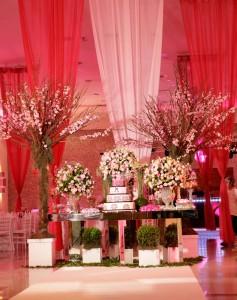 Decoração para Festa de Debutante
