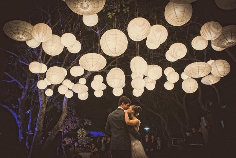 ideias de decoração com lanternas para casamento