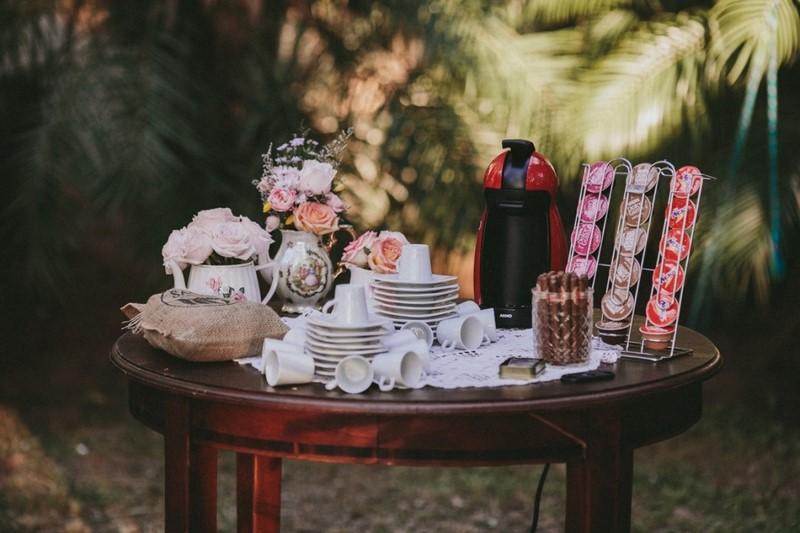 mesa de encerramento no casamento