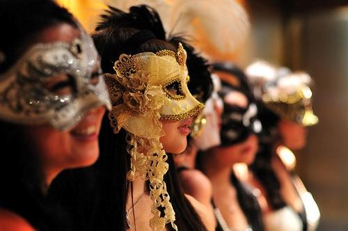 baile de máscaras tema festa de 15 anos