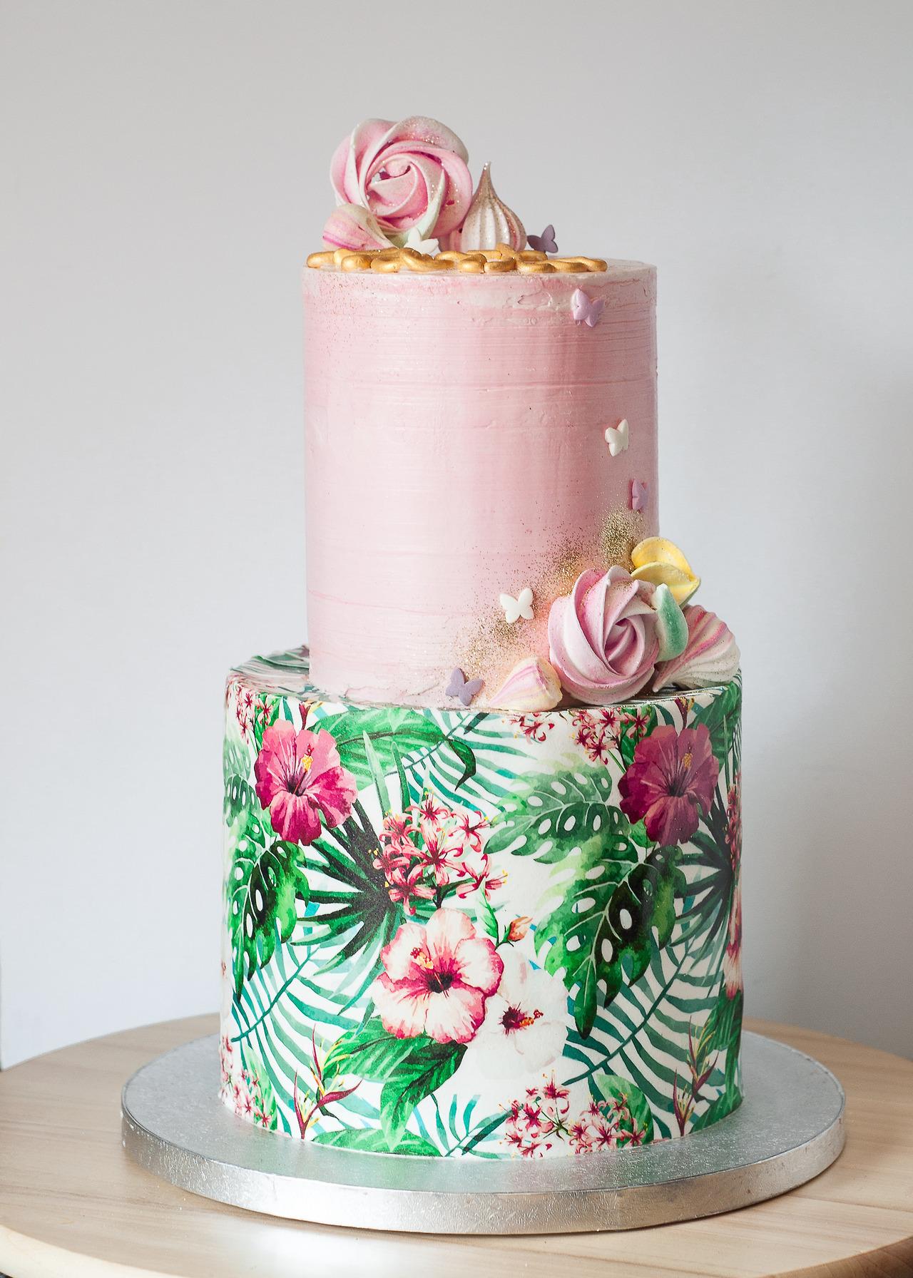 Ideias de bolos decorados para festa de 15 anos bolo decorado estilo tropical festa de 15 anos altavistaventures Gallery
