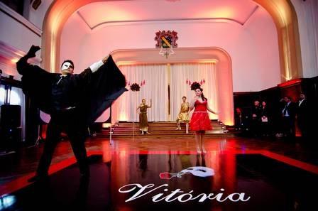 baile valsa debutante fantasma da ópera