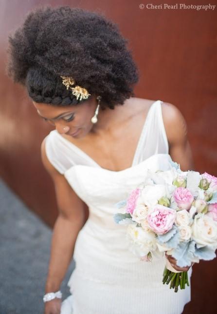 cabelo semi preso para noivas
