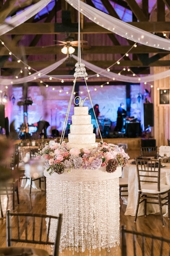 haging cake festa de casamento