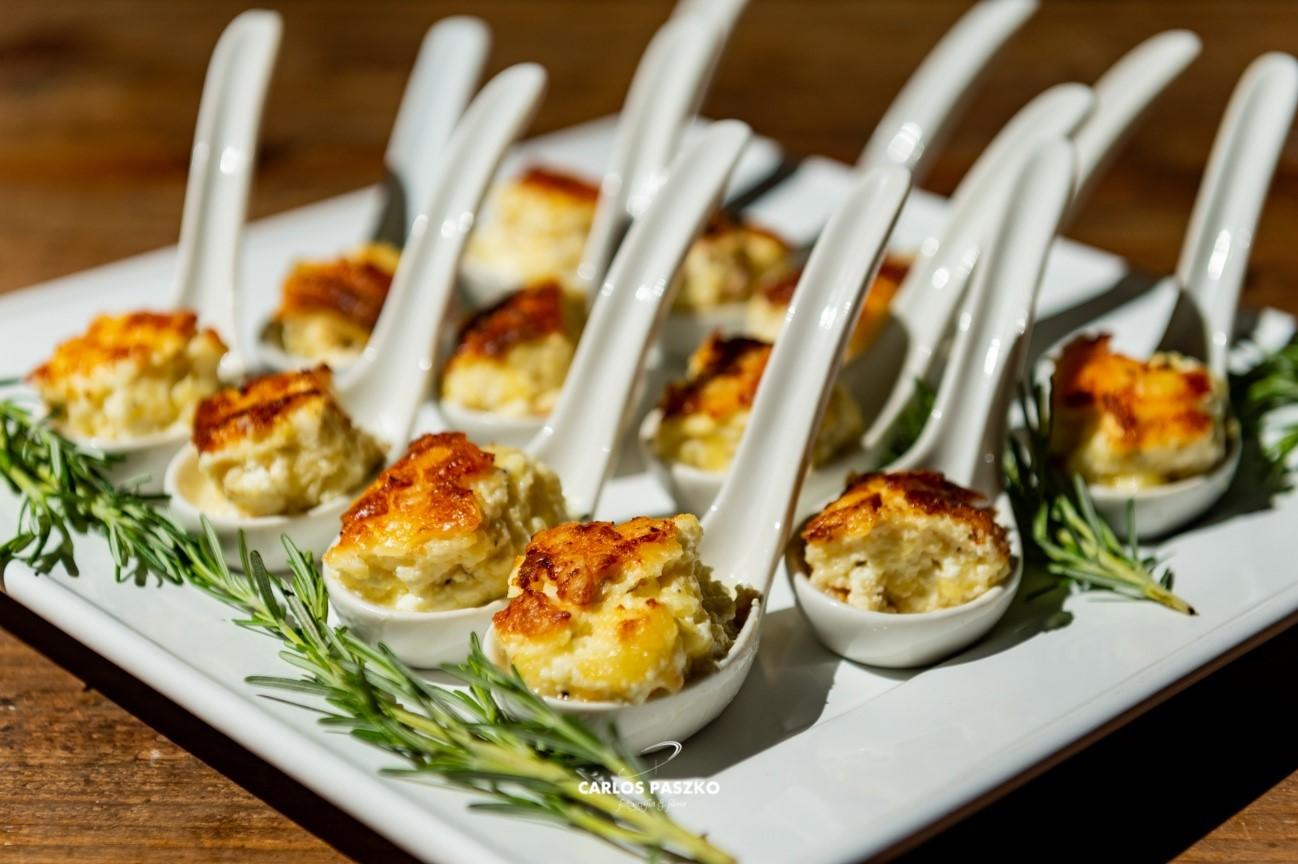 finger food palestra pedro leonardo gastronomia morenos