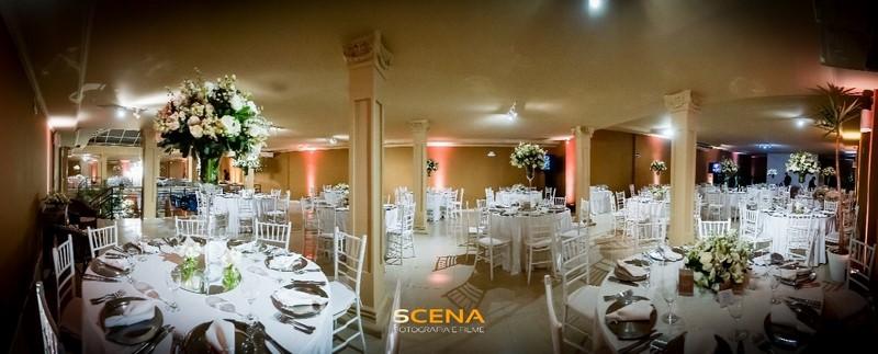 espaço para casamento com estilo clássico
