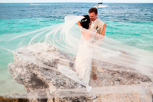 elopement wedding can cun mexico