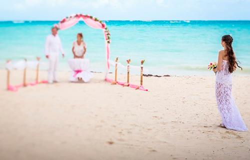elopement wedding punta cana caribe