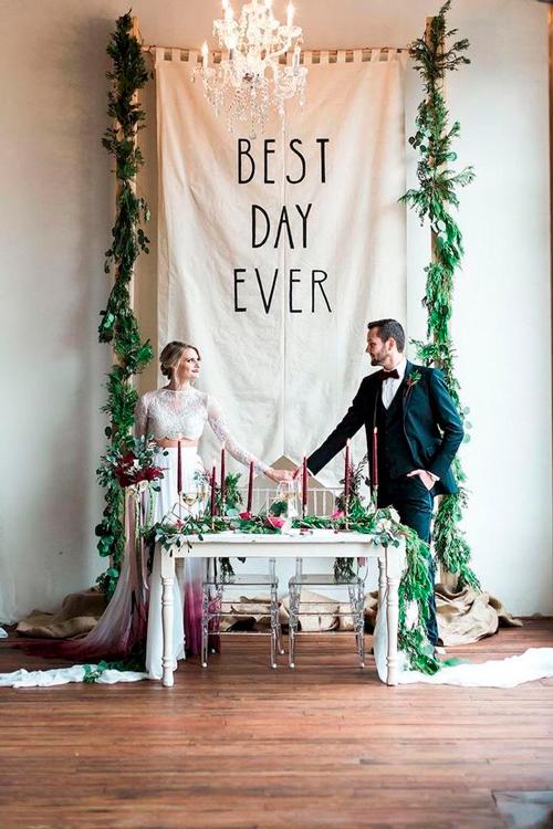 backdrop casamento diy
