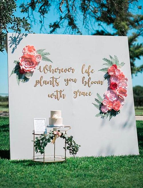 backdrop para casamento