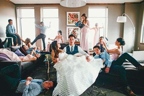 casamento fotos com padrinhos ideias