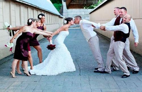 casamento fotos com padrinhos