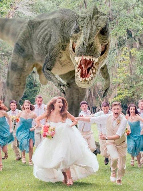 casamento fotos criativas com padrinhos