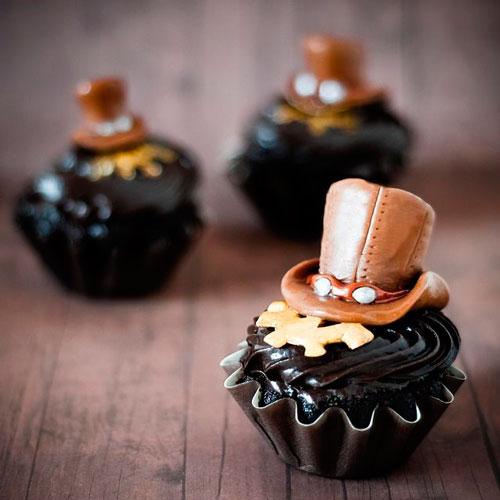 festa de 15 anos estilo steampunk doces