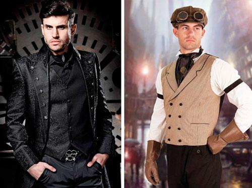 festa de 15 anos estilo steampunk roupas