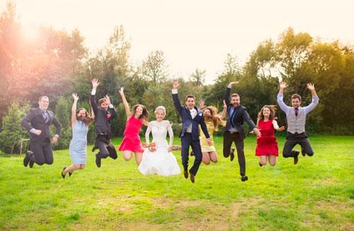 fotos com padrinhos casamento