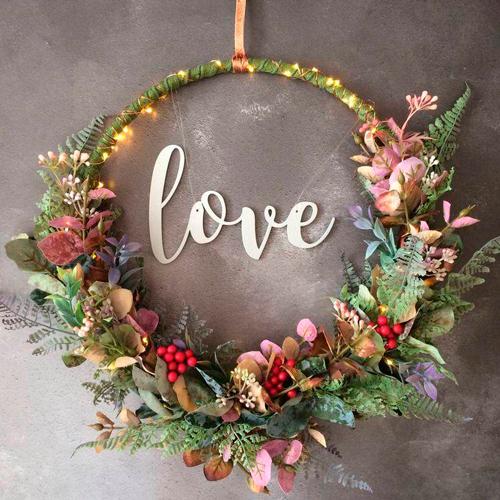 hoop bouquet casamento