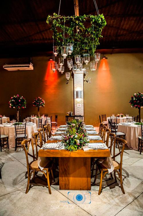 dica decoração luzes iluminação para mini wedding