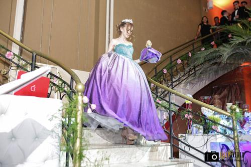 entrada da debutante