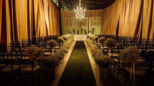 salão casamento para cerimônia no local