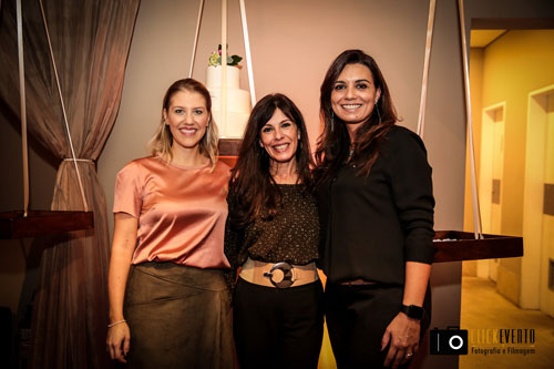 Carol Melo, Dora Moreno e Priscila Cardoso formam uma forte parceria