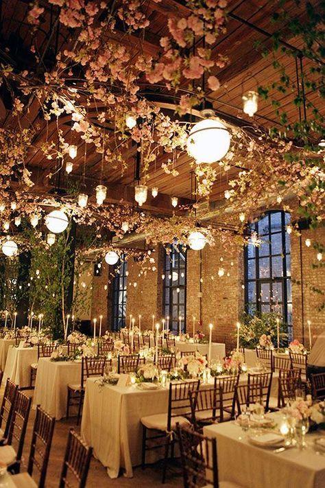 casamento decoração estilo industrial