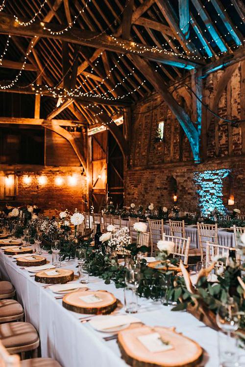 decoração festa casamento industrial