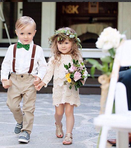 daminha de honra e pajem casamento