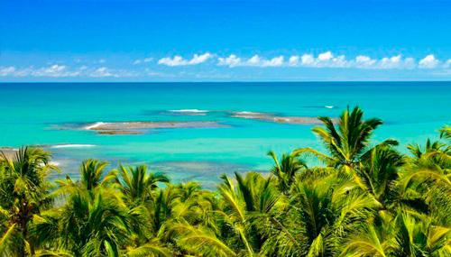 praia do espelho lua de mel brasil