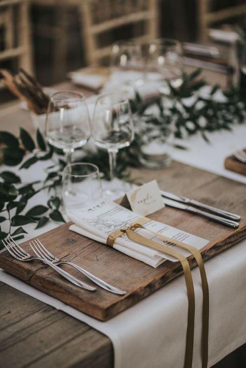 casamento rústico mesa decoração