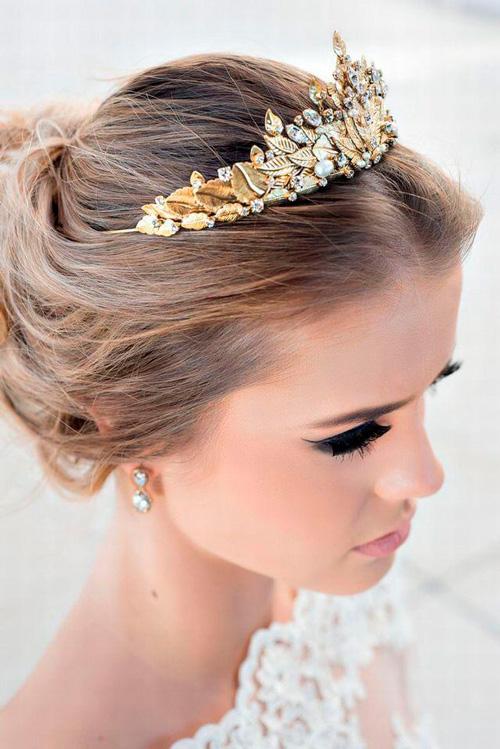 coroas acessório para noivas