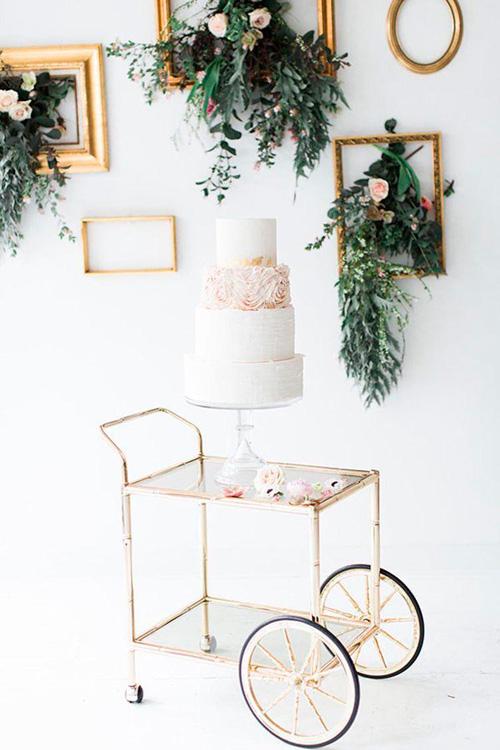 decoração casamento minimalista mesa doces