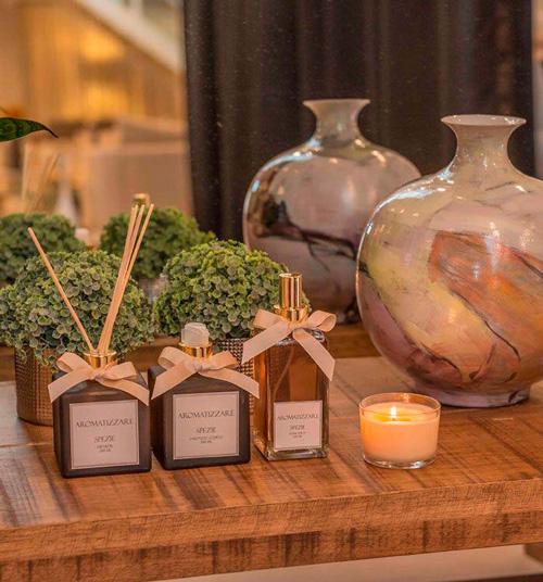 difusor velas aromaticas decoração casamento