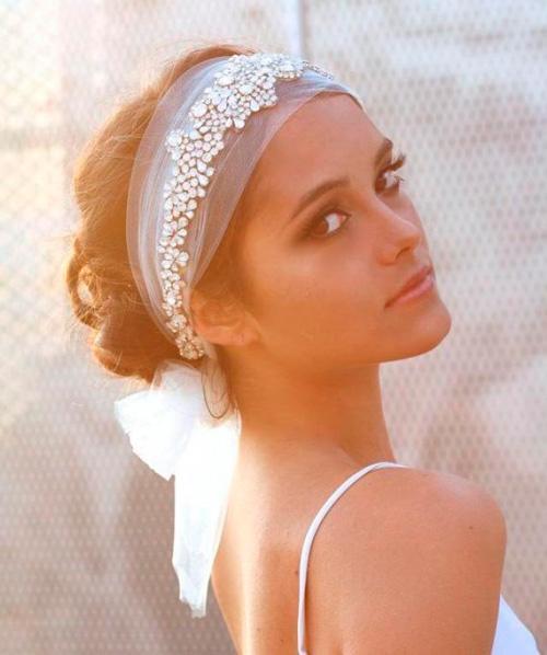 headband acessório para noivas