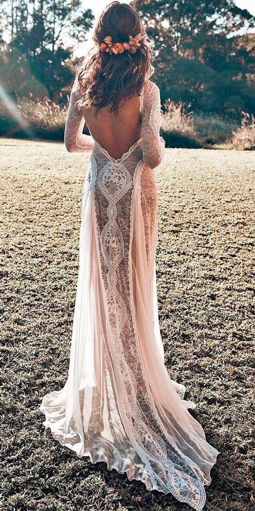 vestido de noiva para casamento estilo rústico