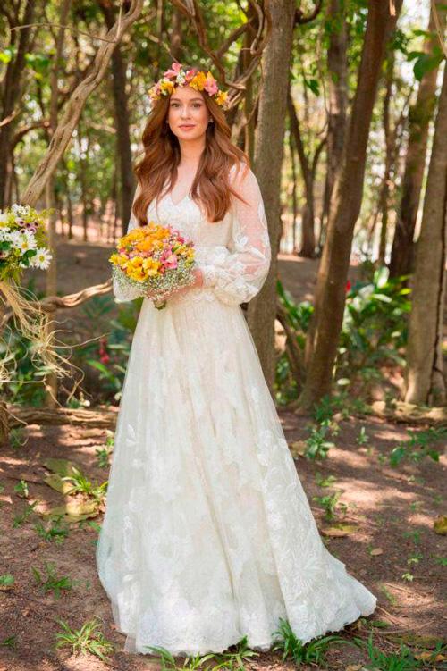 vestido de noiva casamento estilo rústico mariana ruy barbosa