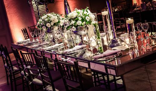 decoração casamento mesa de convidados