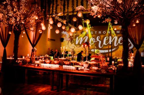 decoração com velas para casamento