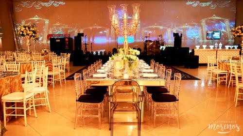 espaço milla mesa de convidados