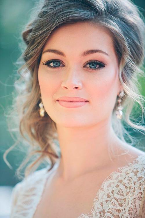 maquiagem para casamento na primavera natural