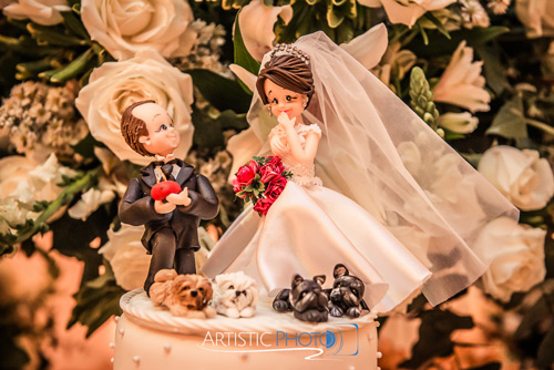 noivinhos bolo de casamento