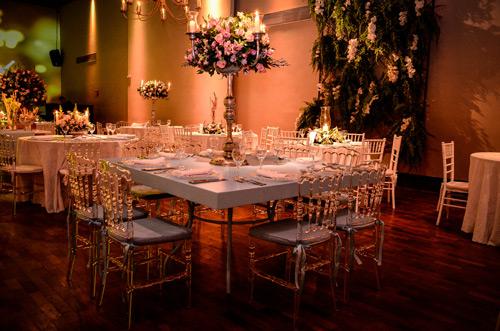 decoração candy color mesa de convidados arranjos casamento