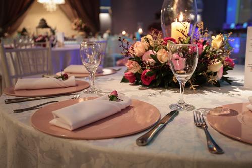 decoração candy color mesa de convidados casamento