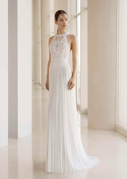 decote halter vestido de casamento