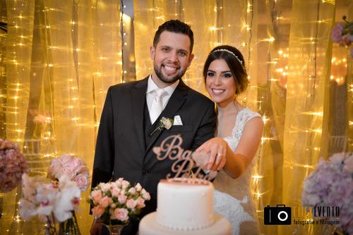 qual o melhor momento para o corte do bolo de casamento